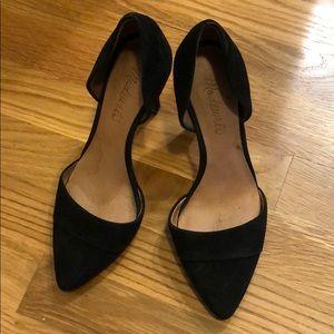 Madewell d'orsay heels